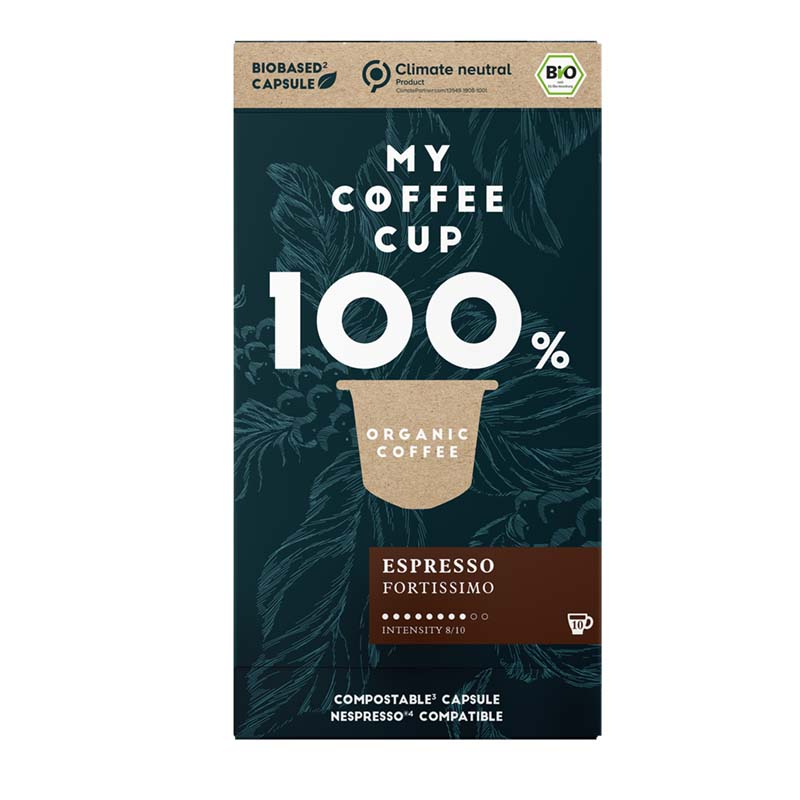 My-CoffeeCup | Coffee capsules Espresso Fortissimo for